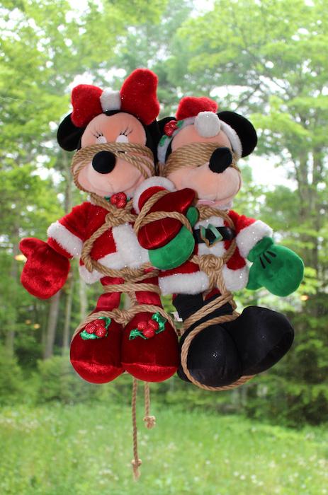 bondage-Minnie & Mickey
